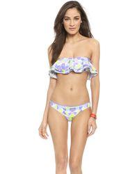 Zinke - Reese Bandeau Bikini Top - Kaleidoscope - Lyst