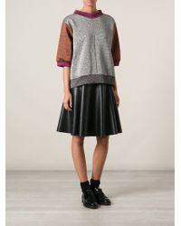Hache - Glitter Sweatshirt - Lyst