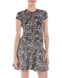 Torn By Ronny Kobo Vivienne Floral Jacquard Dress - Lyst