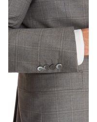 Lanificio F.lli Cerruti Dal 1881 - Cloth Tailored Fit Grey Check 3 Piece Suit - Lyst