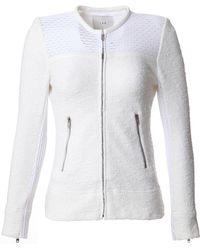 IRO Hurley Mesh Jacket white - Lyst