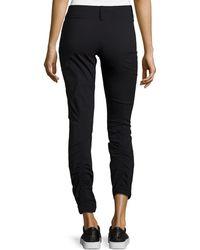 Anatomie Ramona Ruched Hem Pants - Black