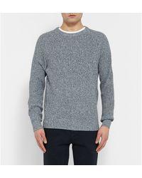 J.Crew Knitted Cotton Sweatshirt - Lyst