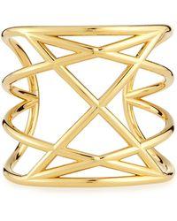 Marc By Marc Jacobs Majorie Golden Cuff Bracelet - Lyst