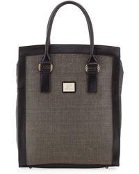 Gianfranco Ferré Wovencenter Shopper Tote Bag - Lyst