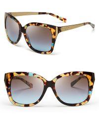 Michael Kors Taormina Modern Square Sunglasses - Lyst