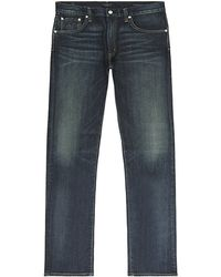 Citizens Of Humanity Core Slim Straight Dark Wash Jeans - Lyst