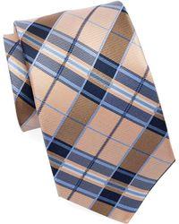 Burma Bibas - Silk Plaid Tie - Lyst