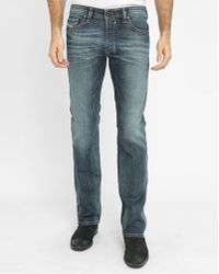 DIESEL | Faded-blue Safado Pr Straight Slim-fit Jeans | Lyst
