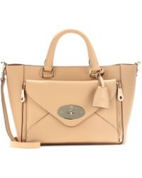 Mulberry Willow Small Leather Tote - Lyst
