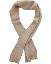 Barneys New York Knit Scarf - Lyst
