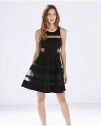 Parker Conner Dress black - Lyst