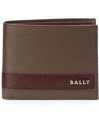 Bally Letrilt Leather Wallet - Lyst