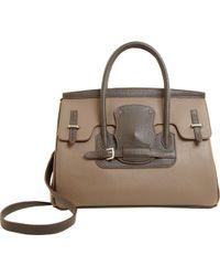 Moreau Diligence Handle Bag - Brown