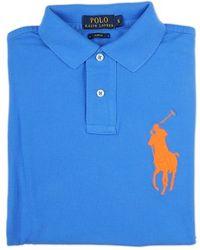 Ralph Lauren Blue Label Light Blue Polo Shirt blue - Lyst