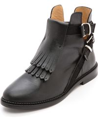 Thakoon Addition Patti Booties  Black - Lyst