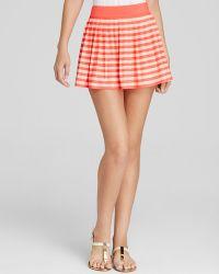 Kate Spade Georgica Beach Stripes Swim Cover Up Skirt - Lyst