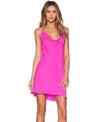 Amanda Uprichard Pink Waverly Dress - Lyst