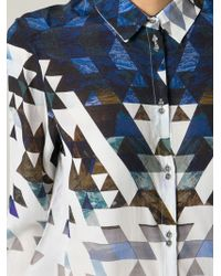 2nd Day - Geoma Print Shirt - Lyst