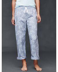 Gap | Floral Print Pants | Lyst