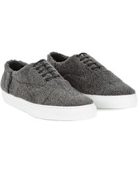Joshua Sanders Mens Lama Sneakers - Lyst