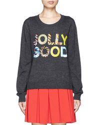 Markus Lupfer Jolly Good Sequin Joey Sweater - Lyst