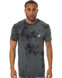 Huf The Small Script Crystal Wash Tee - Lyst