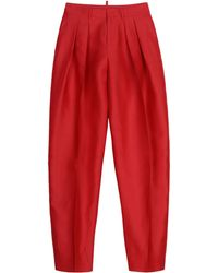 DSquared² Casual Pants red - Lyst