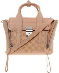 3.1 Phillip Lim Pashli Mini Satchel Bag beige - Lyst