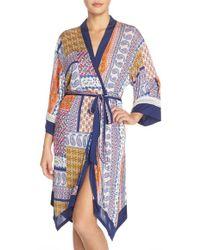 Bollydoll - Print Modal Robe - Lyst