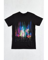 Design By Humans - Feel Without Gravity Tee - Lyst