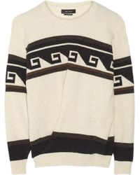 Isabel Marant Samuel Oversized Knitted Sweater - Lyst