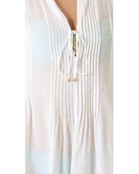Vix Catarina Cover Up Dress - Lyst