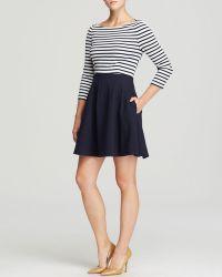 Kate Spade Selma Nautical Dress - Lyst