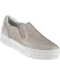 Ash Jungle Bis Slip-On Platine Glitter - Lyst