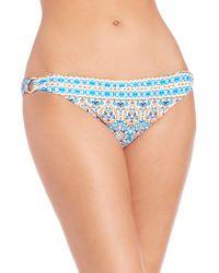 Shoshanna | Boho-print Bikini Bottom | Lyst