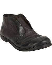 Marsell Distressed Slip-On Shoes - Lyst
