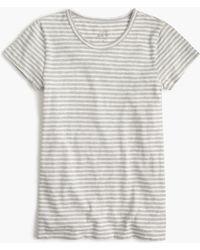 J.Crew | Short-sleeve Painter T-shirt In Stripe | Lyst