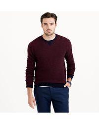 J.Crew Lambswool Sweatshirt Sweater - Lyst