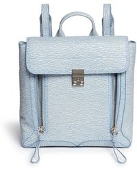 3.1 Phillip Lim Pashli Colourblock Grainy Leather Backpack - Lyst