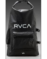 RVCA - Gobe Wetdry Backpack in Black - Lyst