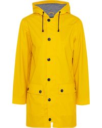 Petit Bateau - Yellow Oilskin Raincoat - Lyst