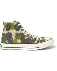 Converse Chuck Taylor Printed Canvas High Top Sneakers - Lyst