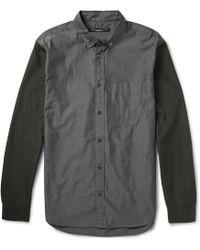Marc By Marc Jacobs Colourblock Cotton Shirt - Lyst