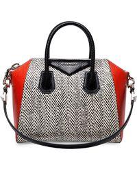 Givenchy Antigona Medium Elaphe Satchel Bag - Lyst