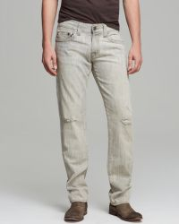 True Religion Jeans  Geno Slim Straight Fit in Riverbed - Lyst