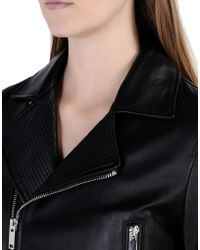 DKNY | Leather Outerwear | Lyst