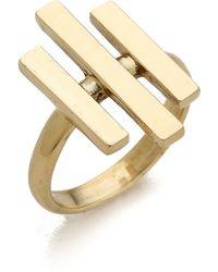 Pamela Love - Axis Ring - Brass - Lyst