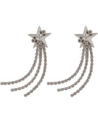 Erickson Beamon Shooting Star Search Earrings - Metallic