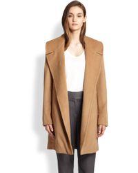 L'Agence Wool & Cashmere-Blend Coat - Lyst